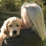 me kissing spud pup